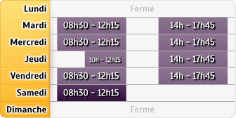 Horaires Groupama Clisson