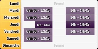 Horaires du Groupama Plouescat, 7 Pl Du Gal De Gaulle