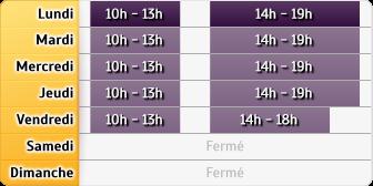 Horaires Crédit Foncier - Issy-les-Moulineaux