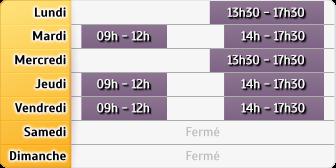 Horaires Crédit Foncier - La Roche-sur-Yon