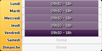 Horaires Crédit Foncier - Menton