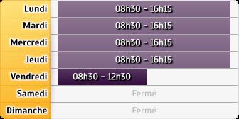 Horaires Pôle emploi - Roussillon