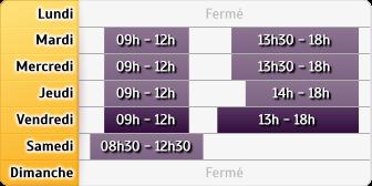 Horaires Caisse d'Epargne DIJON LIBERTE