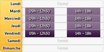 Horaires Allianz - Bourges