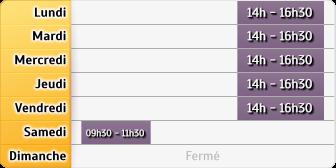 Horaires La Poste - Freville