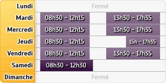 Horaires Agence Maubourguet