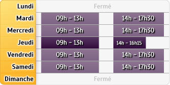 Horaires Agence Clichy Les Allees