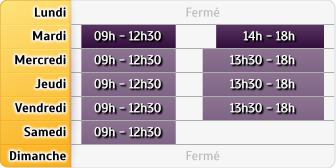 Horaires CIC Grenoble Ste Claire