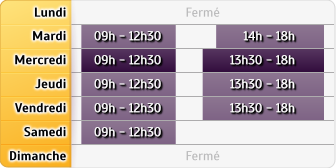 Horaires CIC Chambery Comte Vert - CIC Bassens