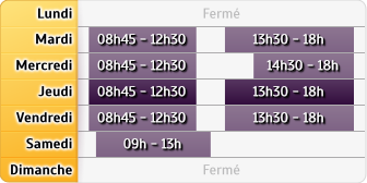 Horaires CIC Pau Gal Leclerc - CIC Nay