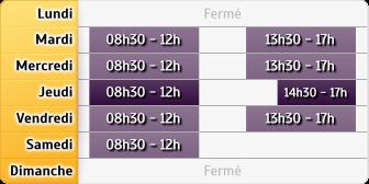Horaires Caisse d'Epargne La Seyne-Arche
