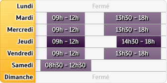 Horaires Caisse d'Epargne Saint Marcel