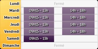 Horaires Caisse d'Epargne Breteuil