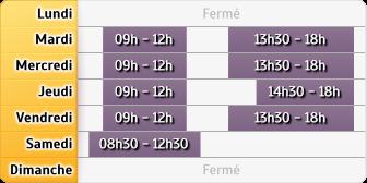Horaires Caisse d'Epargne Dijon Grangier