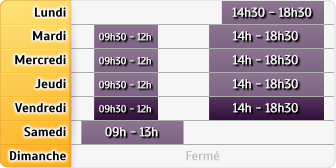 Horaires AXA Assurance Fabrice Brosse