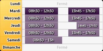 Horaires du Société Générale - Saint-Hippolyte-du-Fort, 10 Rue Roger Broussoux