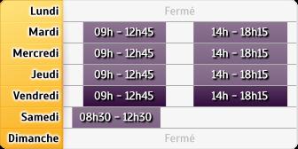 Horaires Société Générale - Grenoble