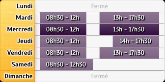 Horaires du Credit Mutuel - Aix-en-Provence, 6 Cours Des Minimes
