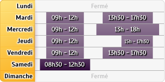 Horaires du Credit Mutuel Enseignant Franche Comte - Cme Lons, 75, Cours Sully