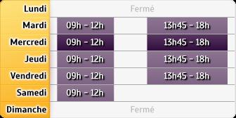 Horaires Credit Mutuel - Saint-Dié-des-Vosges
