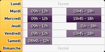 Horaires Credit Mutuel Charmont Sochaux