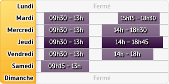 Horaires Credit Mutuel - Gentilly
