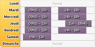 Horaires Credit Mutuel - Mantes-la-Jolie