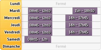 Horaires Credit Mutuel - Marmoutier