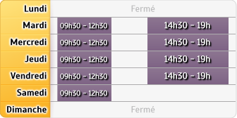 Horaires Jean Michel Finance