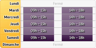 Horaires Philippe Picard