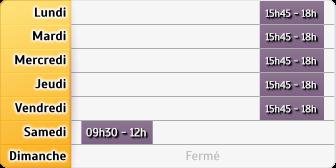 Horaires La Poste - Amfreville