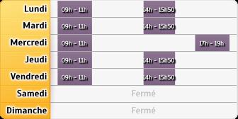 Horaires La Poste - Morey Saint Denis