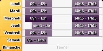 Horaires La Poste - Mouliherne