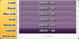 Horaires La Poste - Aillon-le-Jeune