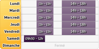 Horaires La Poste - Aulnay Sud - Aulnay-sous-Bois