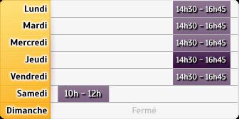 Horaires La Poste - Les Clouzeaux - Aubigny