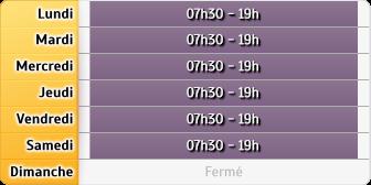 Horaires du La Poste - Epinal Champ du Pin, 30, Bis Rue de Remiremont