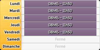 Horaires La Poste - Villefranche
