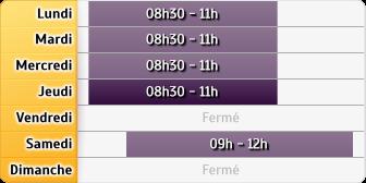 Horaires La Poste - Saint Nazaire En Royans