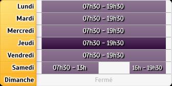 Horaires La Poste - La Rochelle Rpu le Bounty