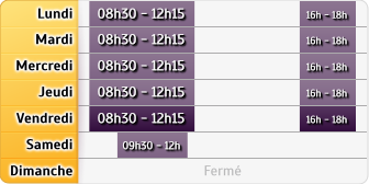 Horaires La Poste - Boulleret
