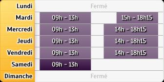 Horaires Credit Mutuel - Déville-l�s-Rouen