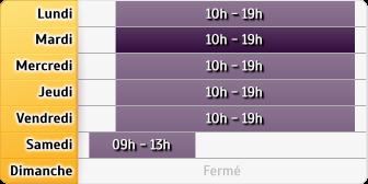 Horaires La Poste - Paris Parmentier