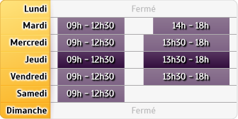 Horaires CIC - Grenoble