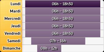 Horaires La Poste - Hagenthal le Bas