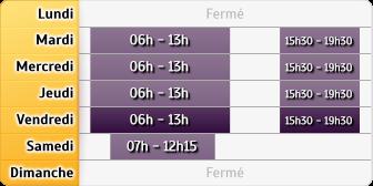 Horaires La Poste - St Forgeux