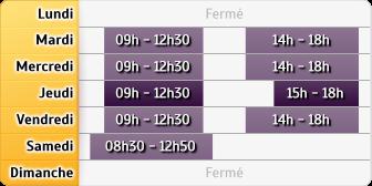 Horaires du Société Générale - Saint-André-de-la-Roche, 109 Qu de la Banquiere