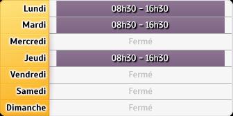 Horaires CAF - Saint-Orens