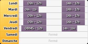 Horaires du CAF - Saint-Aubin-de-Médoc, Résidence Les Magnolias, Espace Magnolia