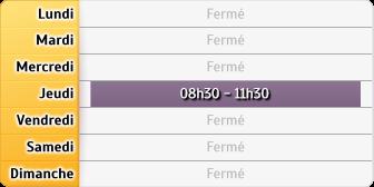 Horaires CAF - Villeneuve-d'Ascq